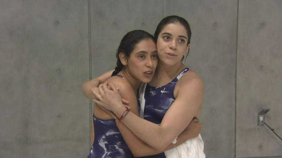 Las clavadistas mexicanas Gabriela Agúndez y Alejandra Orozco obtuvieron su boleto a los Olímpicos de Tokio en plataforma sincronizada femenina.