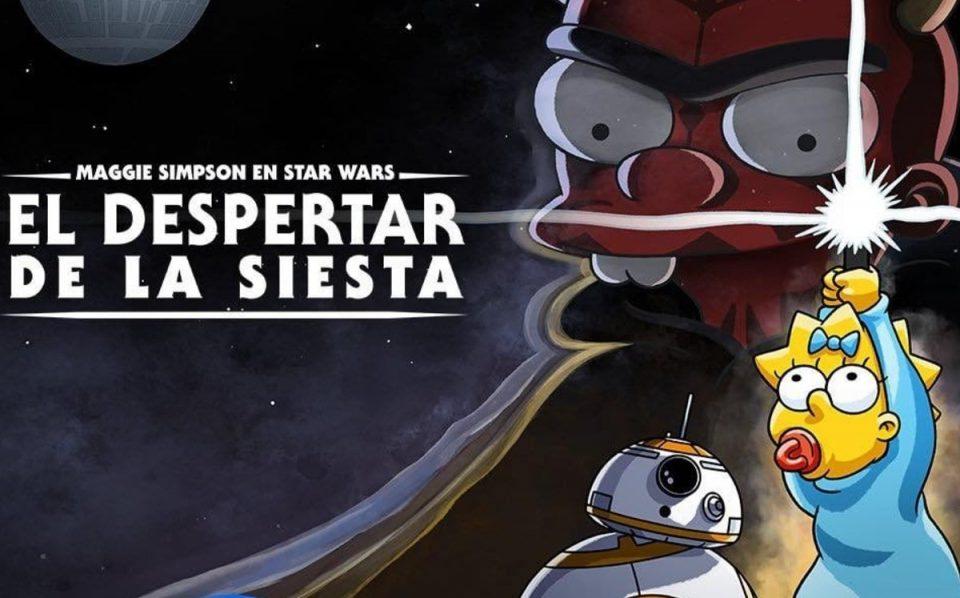 """""""EL DESPERTAR DE LA SIESTA"""": LOS SIMPSONCELEBRAN EL DÍA DE STAR WARS"""