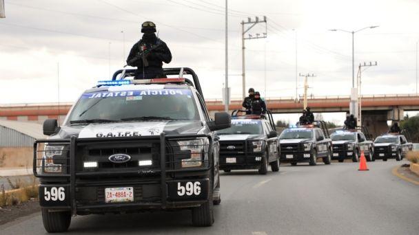 Zacatecas: Llegan fuerzas federales por enfrentamientos de Cárteles