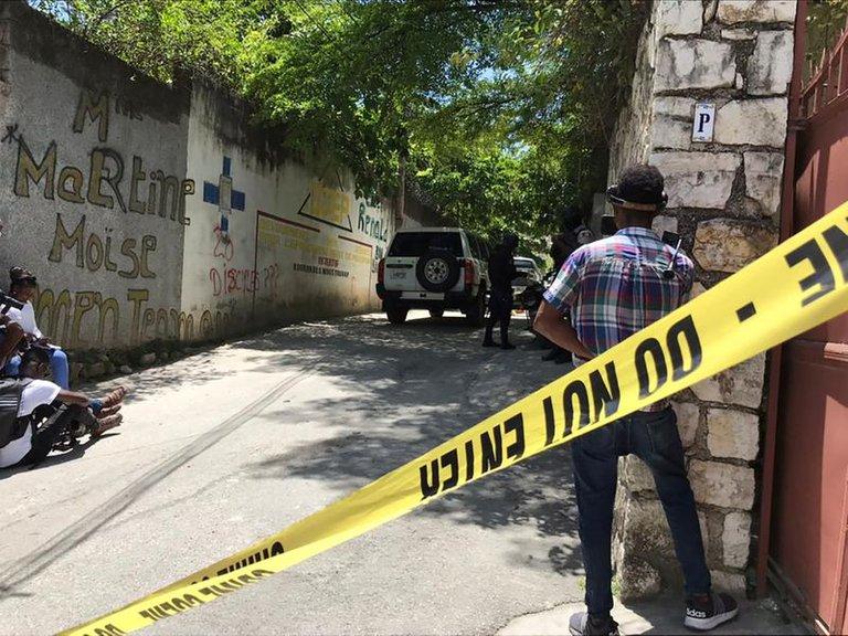 DETIENEN A 17 PERSONAS POR EL ASESINATO DEL PRESIDENTE DE HAITÍ