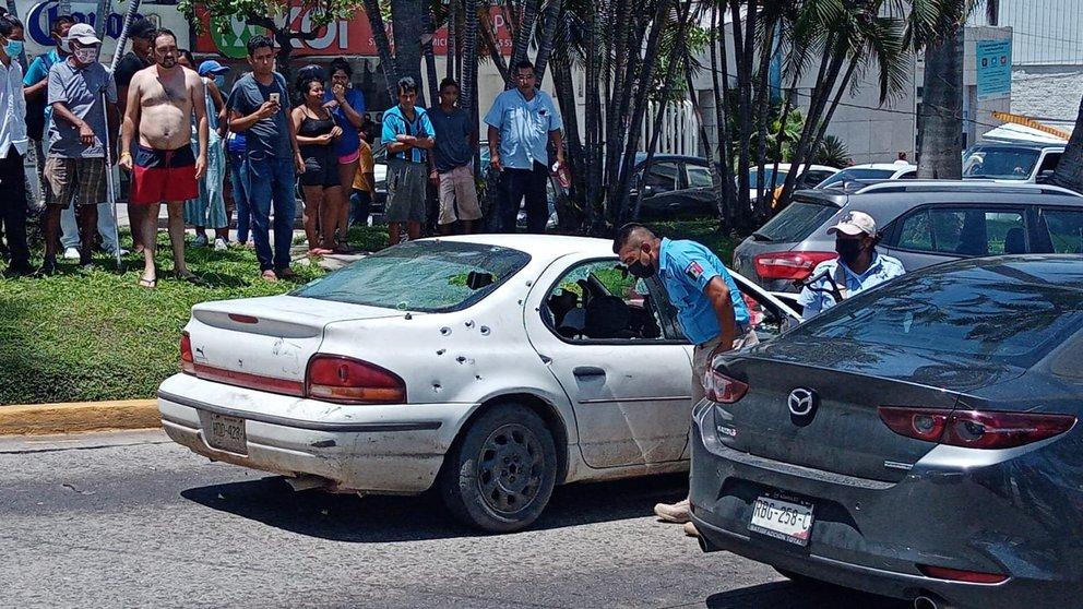 ACAPULCO: BALACERA DEJA UN SALDO DE DOS MUERTOS Y UN HERIDO