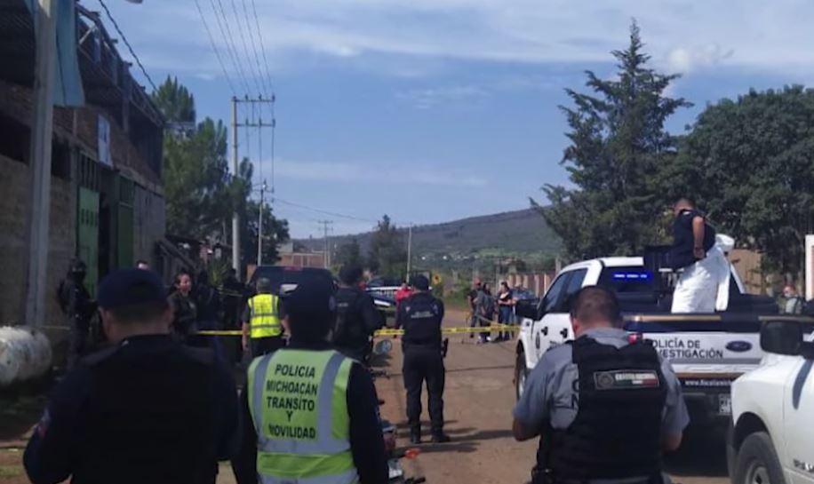 MICHOACÁN: ASESINAN A BALAZOS A MANDO POLICIACO