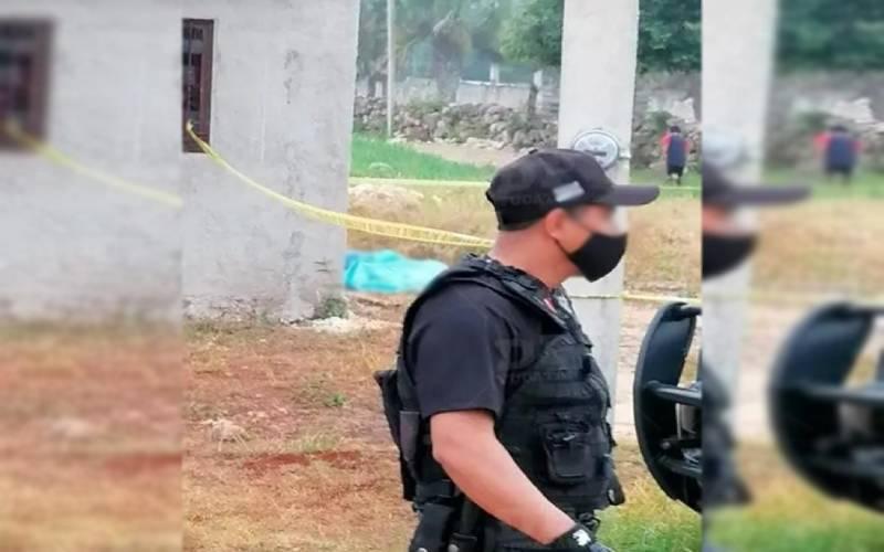 TRÁGICO FINAL DE UN JOVEN DE UNA COMISARÍA DE TICUL