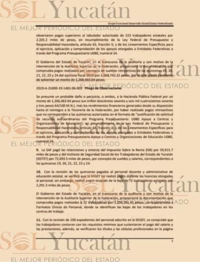 SAQUEÓ EDUCACIÓN_SOL YUCATÁN